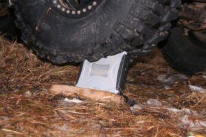 Panasoni Toughbook CF-19 vs. Land Rover Defender