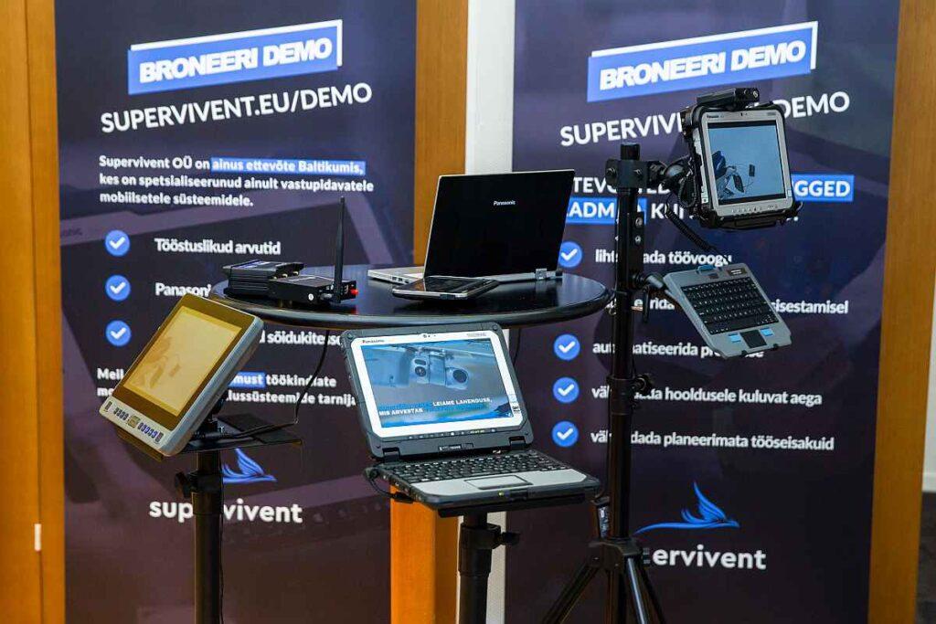 Panasonic Toughbook arvutid tarneahelakonverents eksponentalal